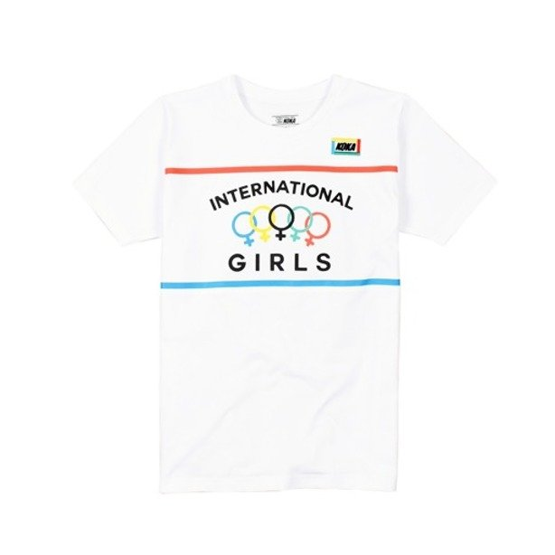 KOKA WMNS T-SHIRT KINGS HIGHWAY WHITE