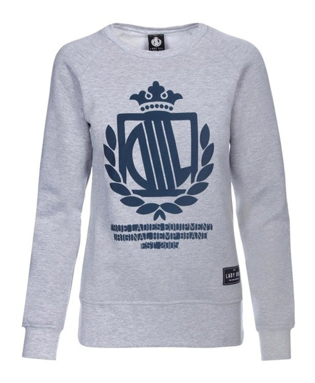 LADY DIIL CREWNECK KLASYK GREY