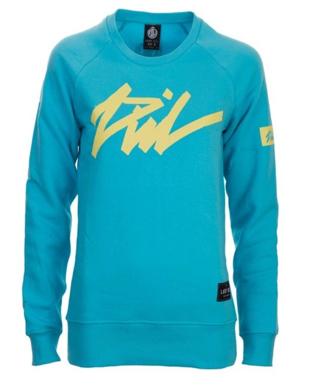 LADY DIIL CREWNECK TAG BLUE