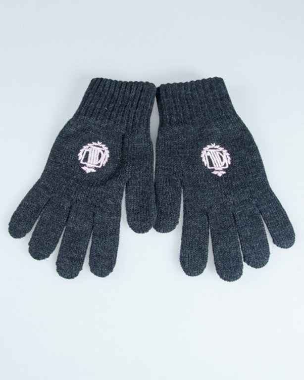 LADY DIIL GLOVES KLASYK GREY