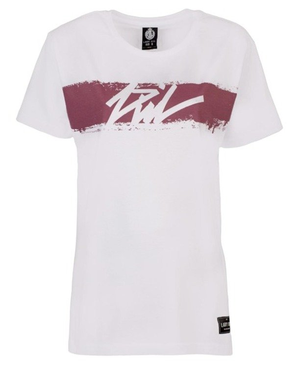 LADY DIIL T-SHIRT SMEARED WHITE