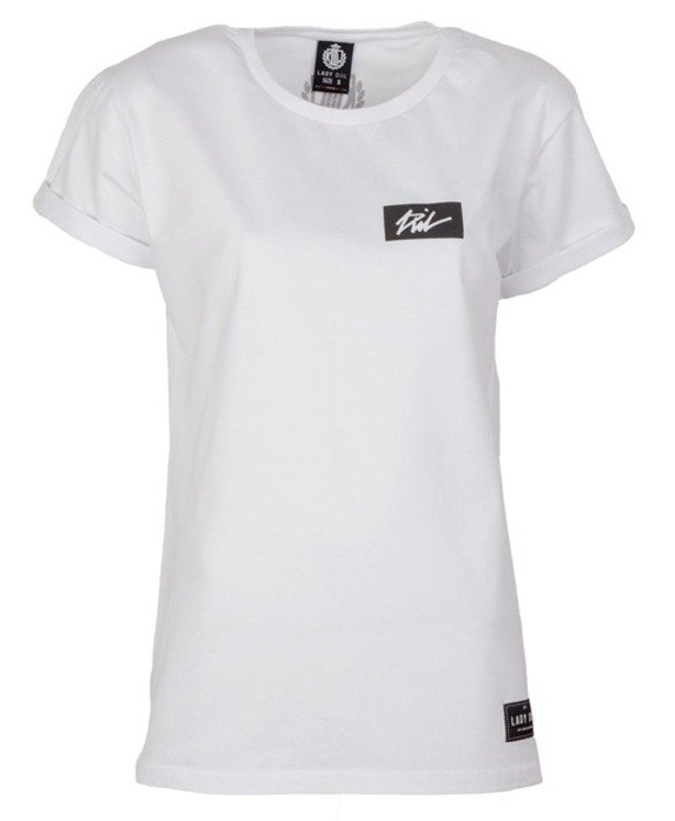 LADY DIIL T-SHIRT TAG WHITE