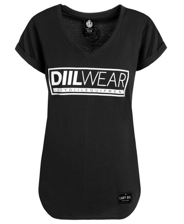 LADY DIIL T-SHIRT WEAR BLACK