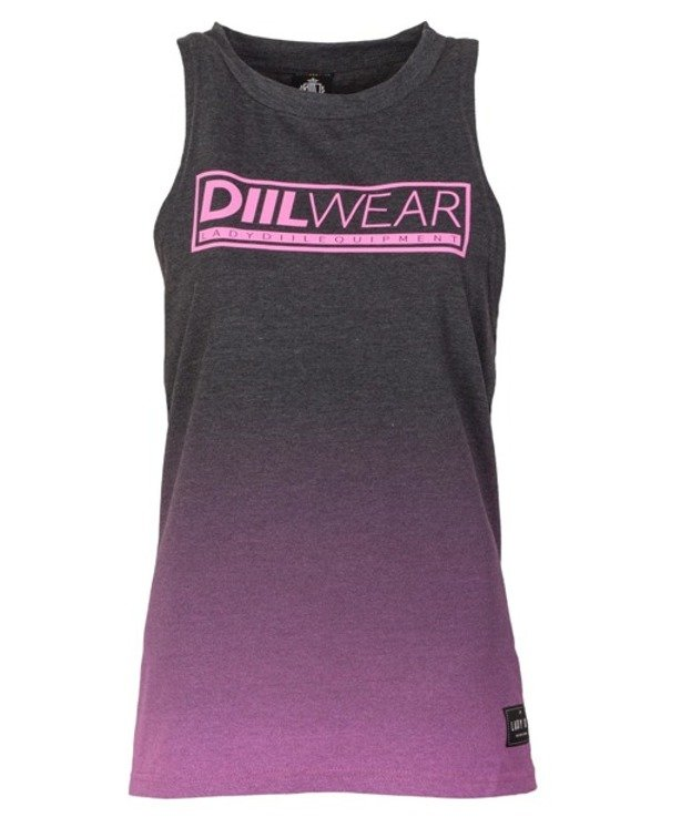 LADY DIIL TANK TOP TONE GREY