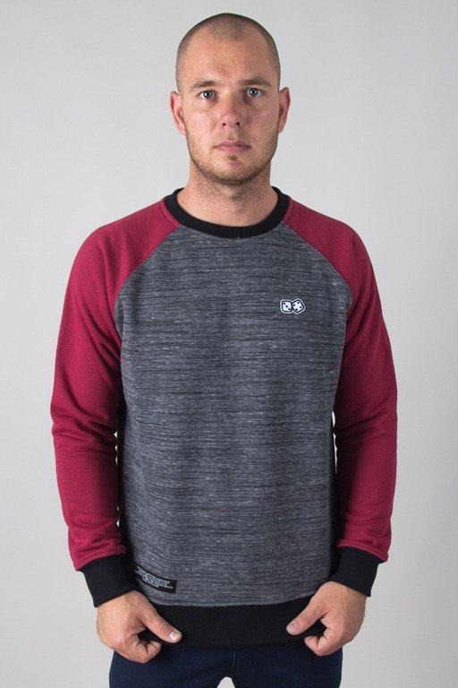 LUCKY DICE CREWNECK COLOUR GREY-BRICK