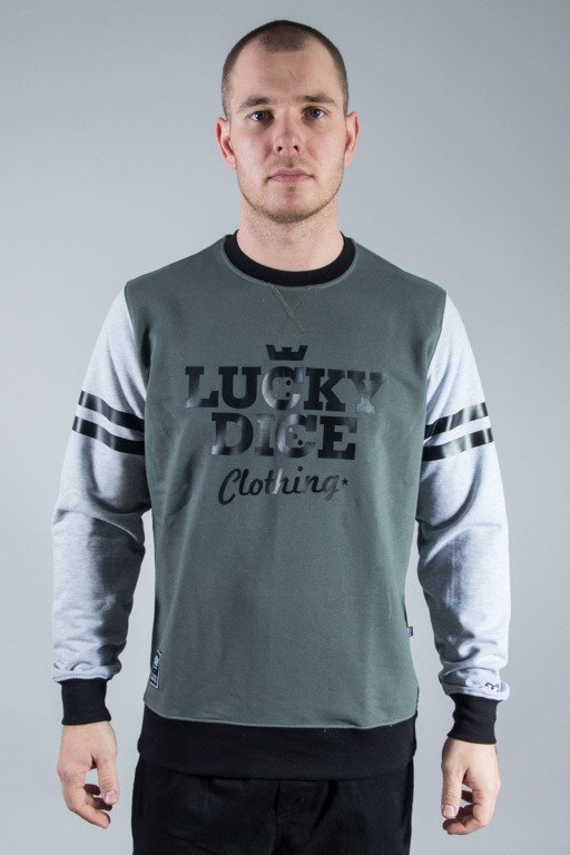 LUCKY DICE CREWNECK NEW KHAKI