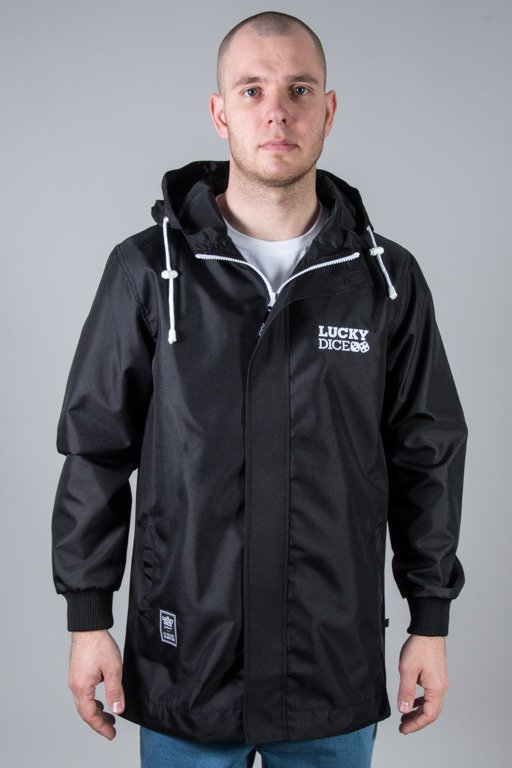 LUCKY DICE JACKET PARKA LD BLACK