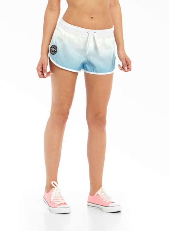 LUCKY DICE SHORTS SUMMER GIRL TONAL BLUE