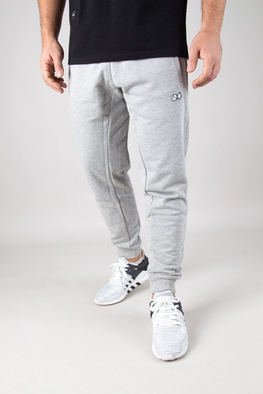 LUCKY DICE SWEATPANTS BASIC GREY