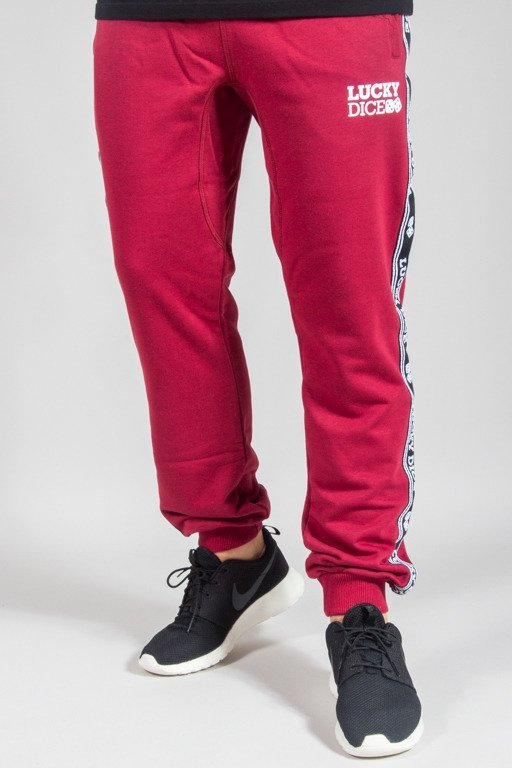LUCKY DICE SWEATPANTS SP TAPE BRICK