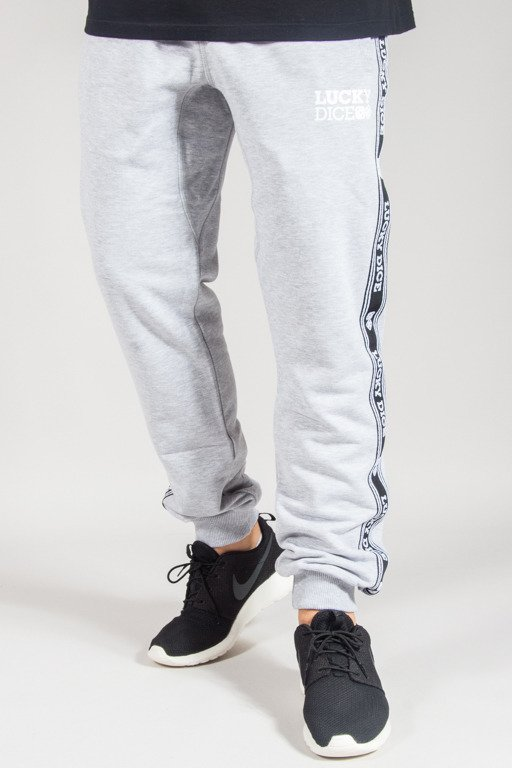 LUCKY DICE SWEATPANTS SP TAPE MELANGE
