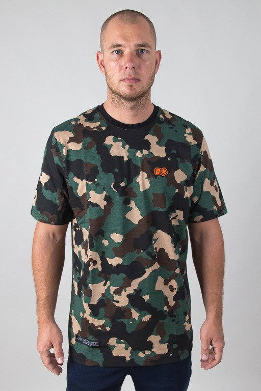 LUCKY DICE T-SHIRT BASIC GREEN-CAMO
