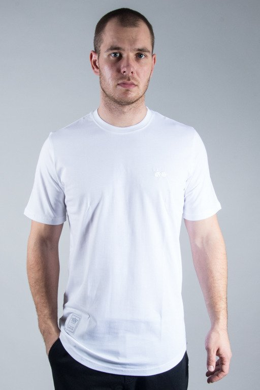LUCKY DICE T-SHIRT LONG BASIC WHITE