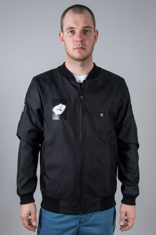 MAJORS JACKET BOMBER BLACK
