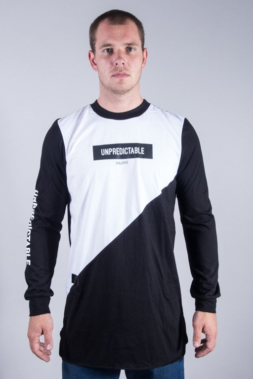 MAJORS LONGSLEEVE UNPREDICTABLE BLACK-WHITE