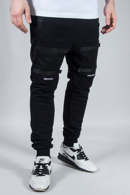 MAJORS SWEATPANTS BLACK