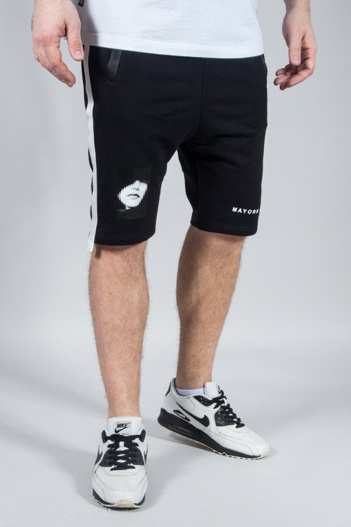 MAJORS SWEATSHORTS BLACK