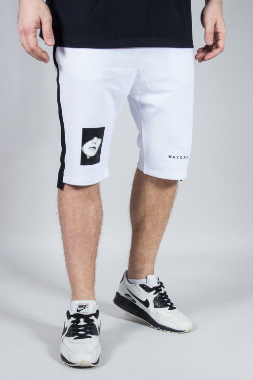 MAJORS SWEATSHORTS WHITE
