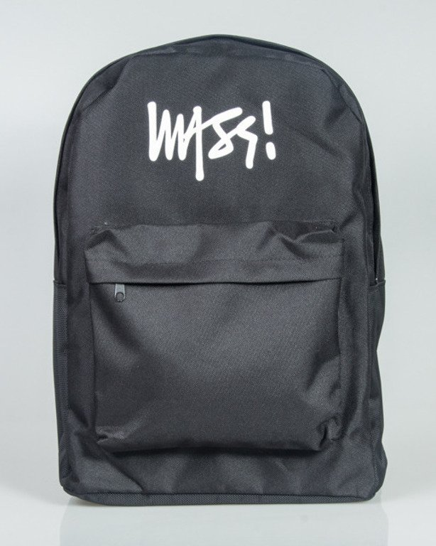 MASS BACKPACK SIGNATURE BLACK