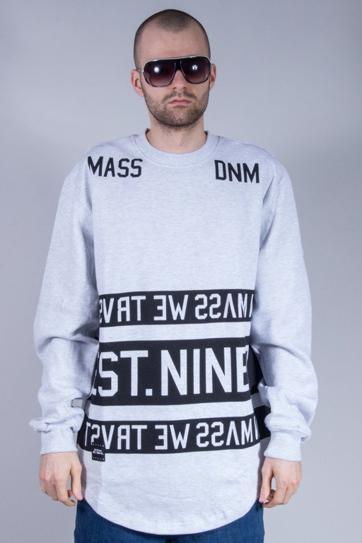 MASS BLUZA BEZ KAPTURA DYME GREY