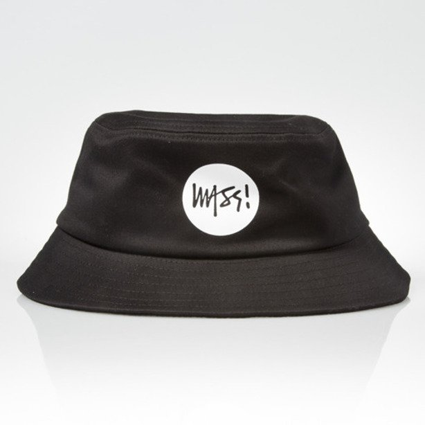 MASS BUCKET HAT SIGNATURE BLACK