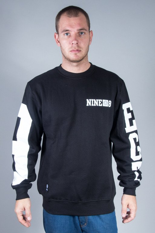 MASS CREWNECK 9 EIGHT BLACK