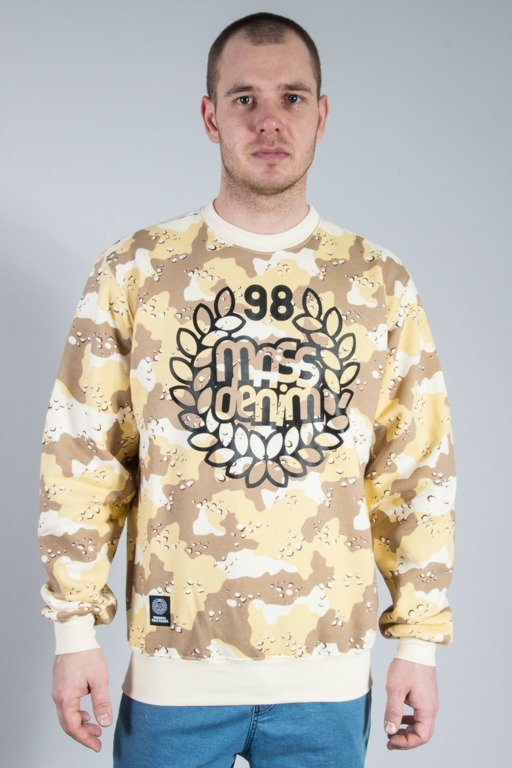 MASS CREWNECK BASE CAMO BEIGE