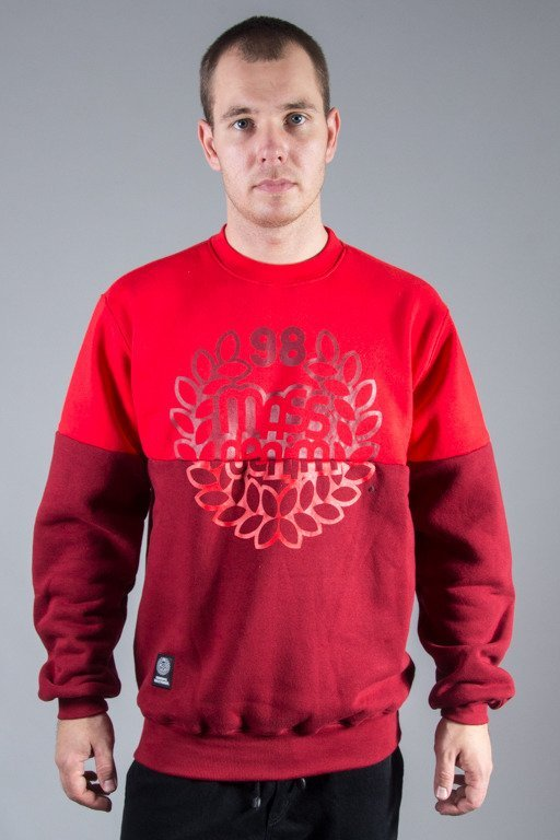 MASS CREWNECK BASE CUT RED