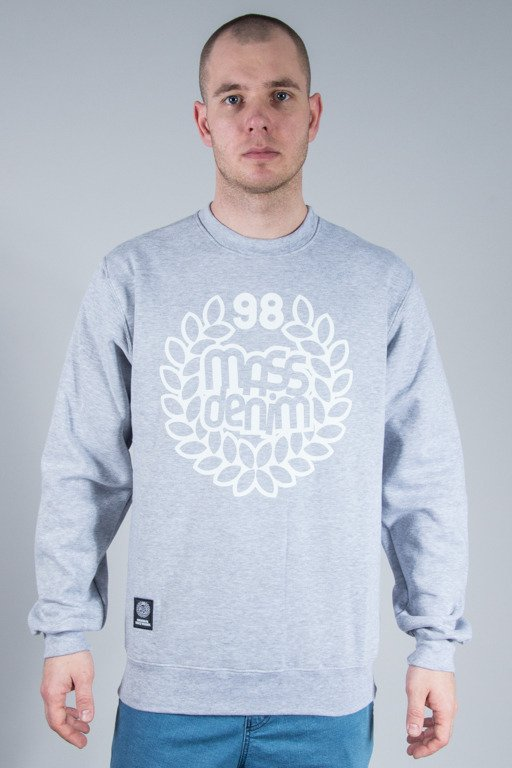 MASS CREWNECK BASE MELANGE