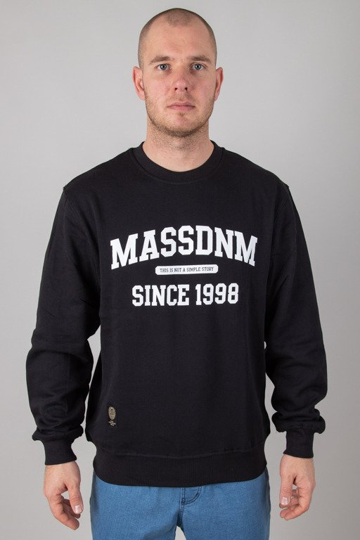 MASS CREWNECK CAMPUS BLACK
