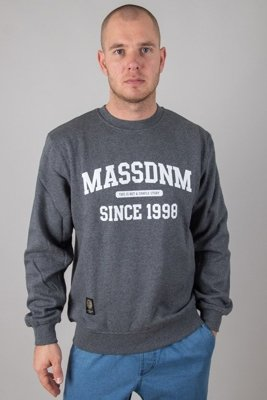 MASS CREWNECK CAMPUS GREY