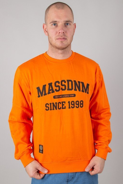 MASS CREWNECK CAMPUS ORANGE
