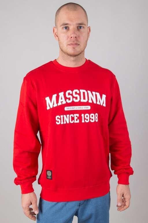 MASS CREWNECK CAMPUS RED