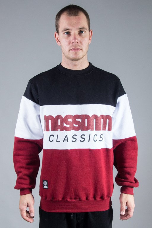 MASS CREWNECK CLASSIC CUT BLACK