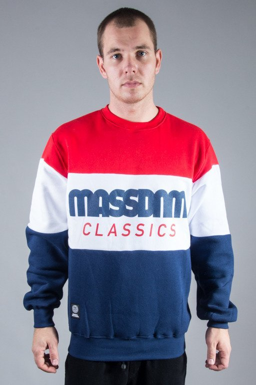 MASS CREWNECK CLASSIC CUT RED