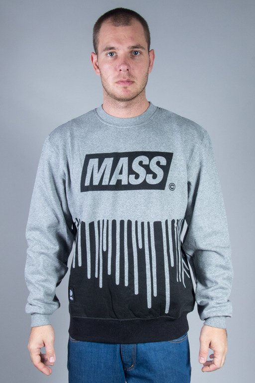 MASS CREWNECK COVER GREY
