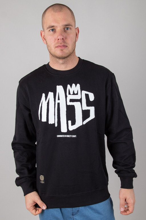 MASS CREWNECK CROWN BLACK
