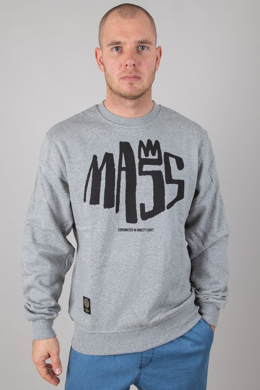 MASS CREWNECK CROWN MELANGE