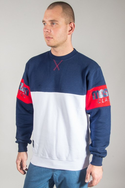 MASS CREWNECK DIVISION NAVY-WHITE
