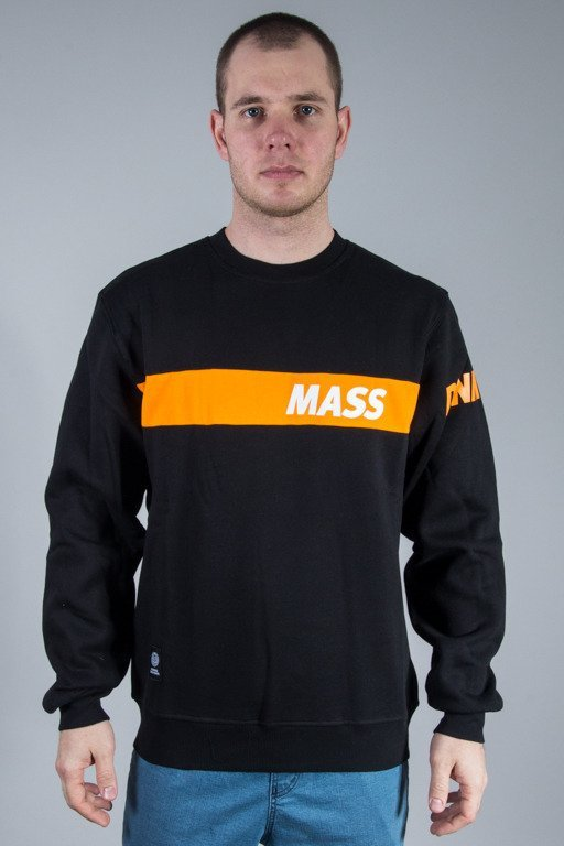 MASS CREWNECK FLIP BLACK