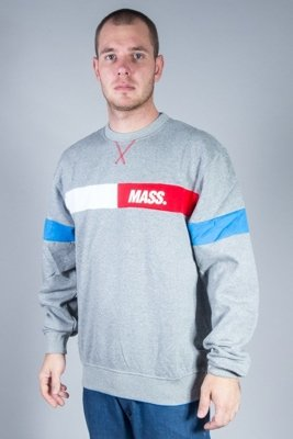 MASS CREWNECK HELLO GREY