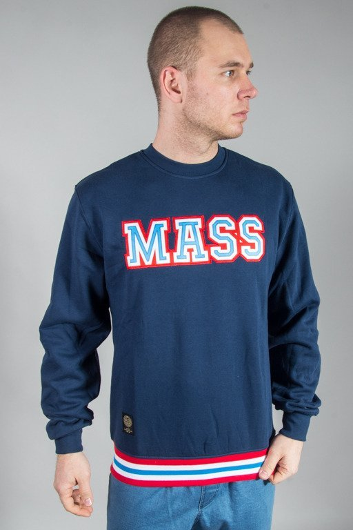 MASS CREWNECK LIBERTY NAVY