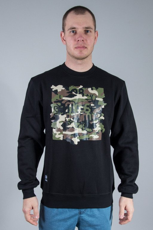 MASS CREWNECK PATROL BLACK