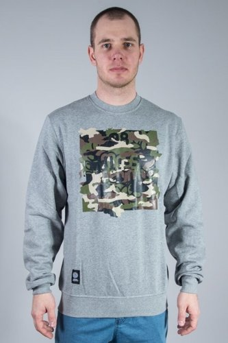 MASS CREWNECK PATROL GREY
