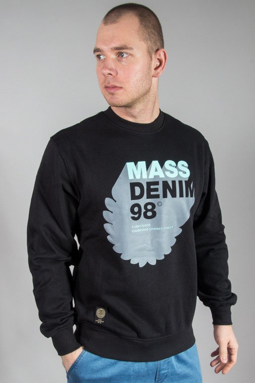 MASS CREWNECK REALLOCATION BLACK