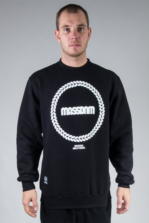 MASS CREWNECK RING BLACK