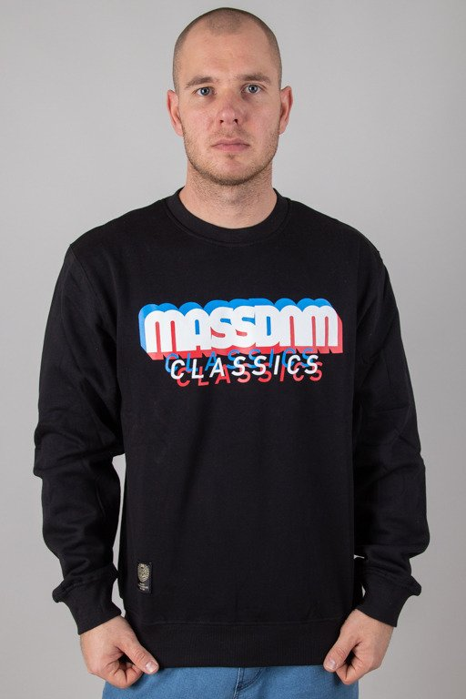 MASS CREWNECK SACRIFICE BLACK