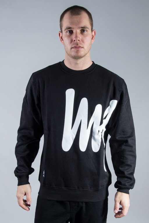 MASS CREWNECK SIGNATURE BIG BLACK