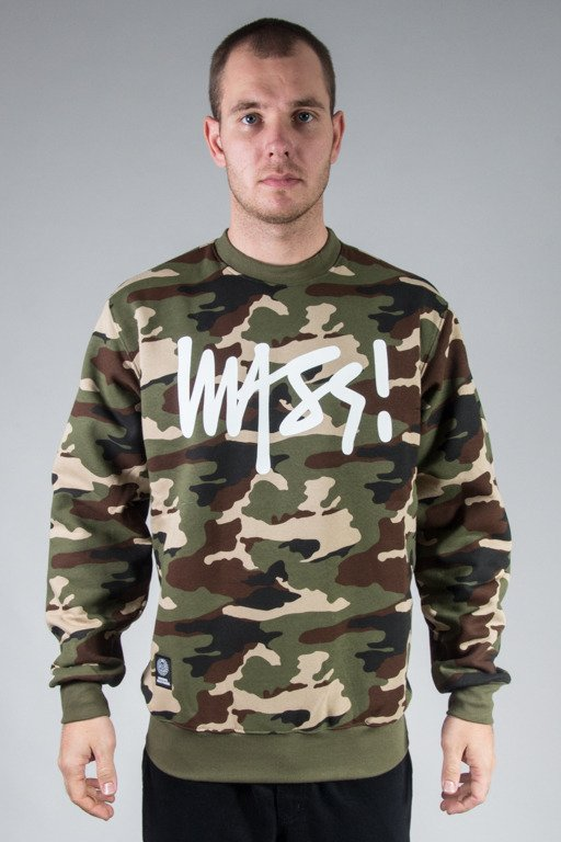 MASS CREWNECK SIGNATURE CAMO