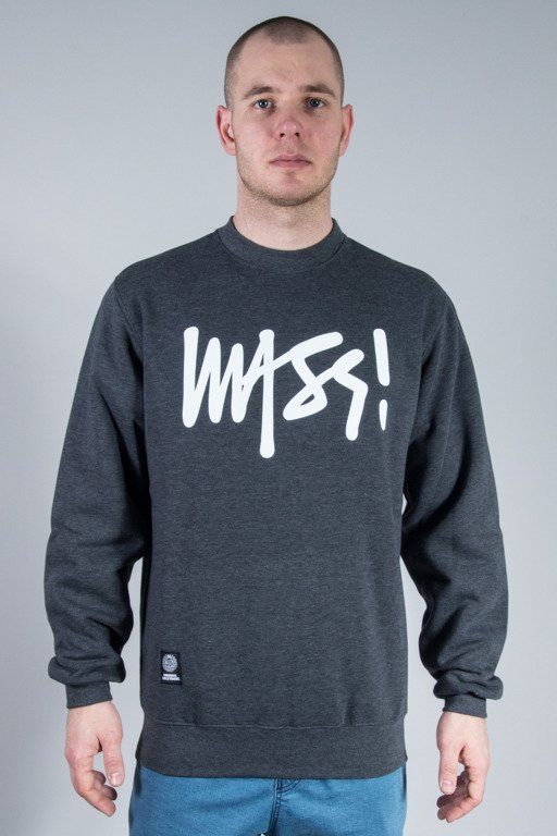 MASS CREWNECK SIGNATURE GREY